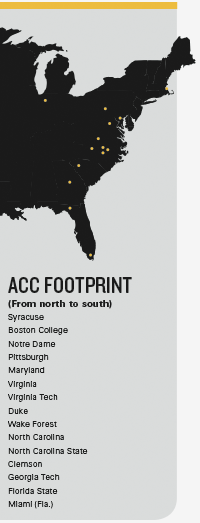 ACC footprint graphic