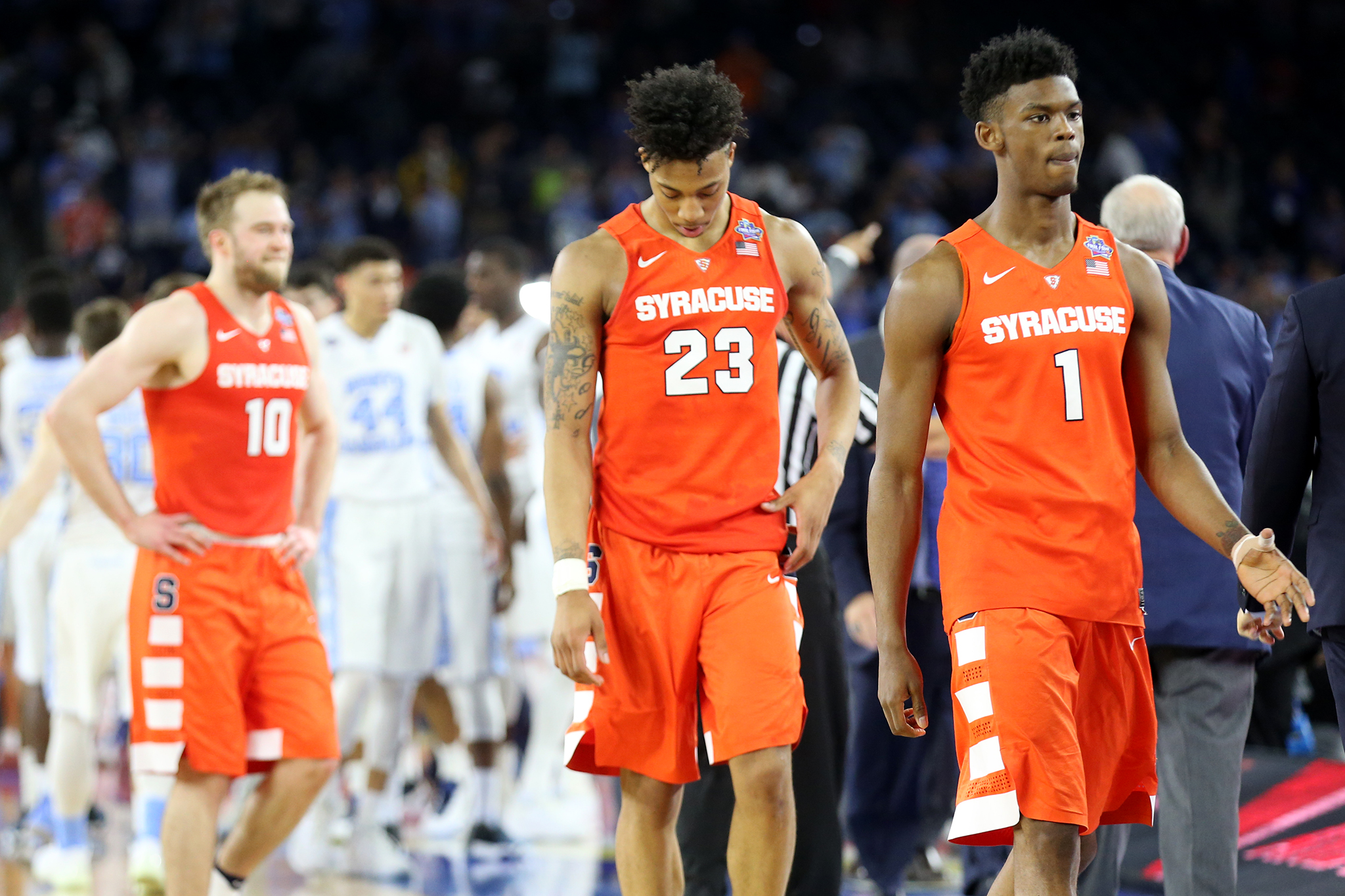 Syracuse Basketball Season Ends With 83 66 Loss To North Carolina In
